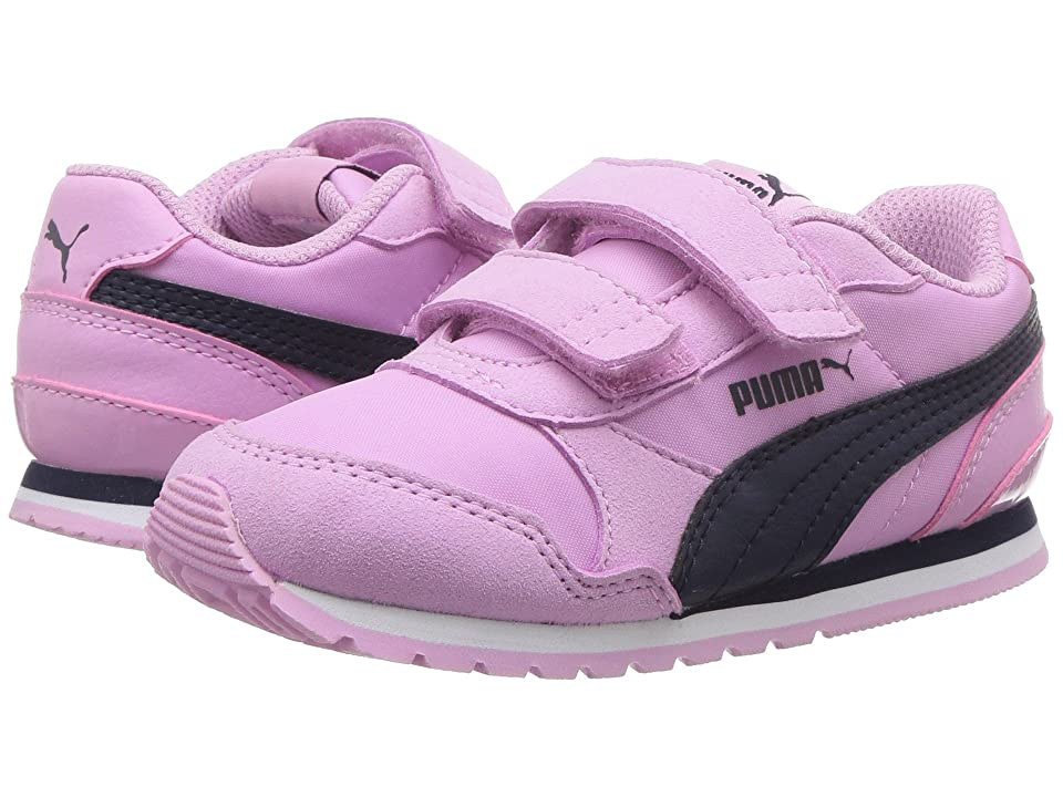 Puma Kids ST Runner v2 NL V (Toddler) (Orchid/Peacoat) Girls Shoes