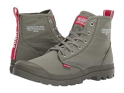 Palladium Pampa Hi Dare (Olive Night) Shoes