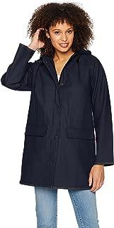 Women's Long Hooded Rain Jacket