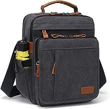 Estarer Umhängetasche Schultertasche Messenger Bag Unisex Kuriertasche für 13.3 Laptop/12.9 iPad Pro für Arbeit und Schule