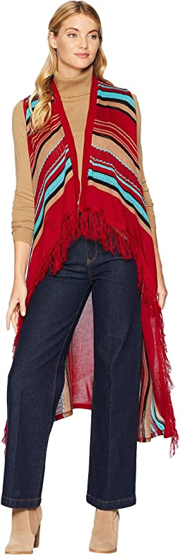 Candi Fun Fringe Sweater Vest