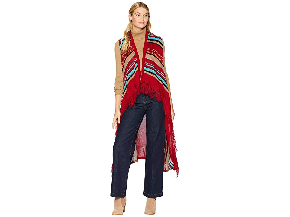 Scully Candi Fun Fringe Sweater Vest (Serape) Women