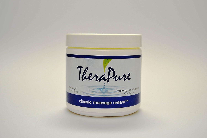Import Massage Cream Professional Grade Max 90% OFF Classic 15 TheraPure Formula by