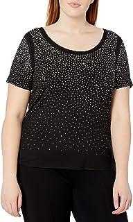 Calvin Klein Women's Plus-Size Scatter T-Shirt