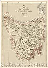 tasmania large map