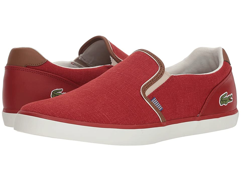 Lacoste Jouer Slip 318 1 (Red/Tan) Men
