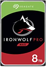 Seagate IronWolf Pro 8TB NAS Internal Hard Drive HDD – CMR 3.5 Inch SATA 6Gb/s 7200 RPM 256MB Cache for RAID Network Attac...