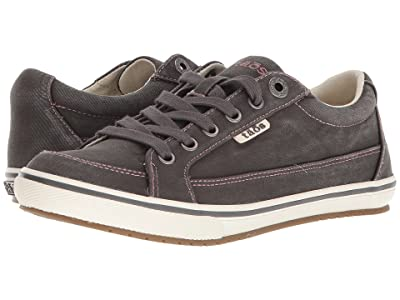 Taos Footwear Moc Star (Graphite Distressed) Women