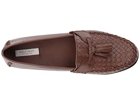 10aea3879cd ... Loafer Brown white Black Leatherharvest Soft Jagger Cole Haan Leather  Weave wqnIPWS1 ...