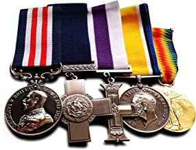 Free cuervos Ltd 5x Military Medals Groupset: George Cruz, Militar Cruz, Reino Unido Guerra Medalla & Victoria–Medalla de copia Premios medallas, Guerra medallas, Reino Unido medallas, Ejército medallas