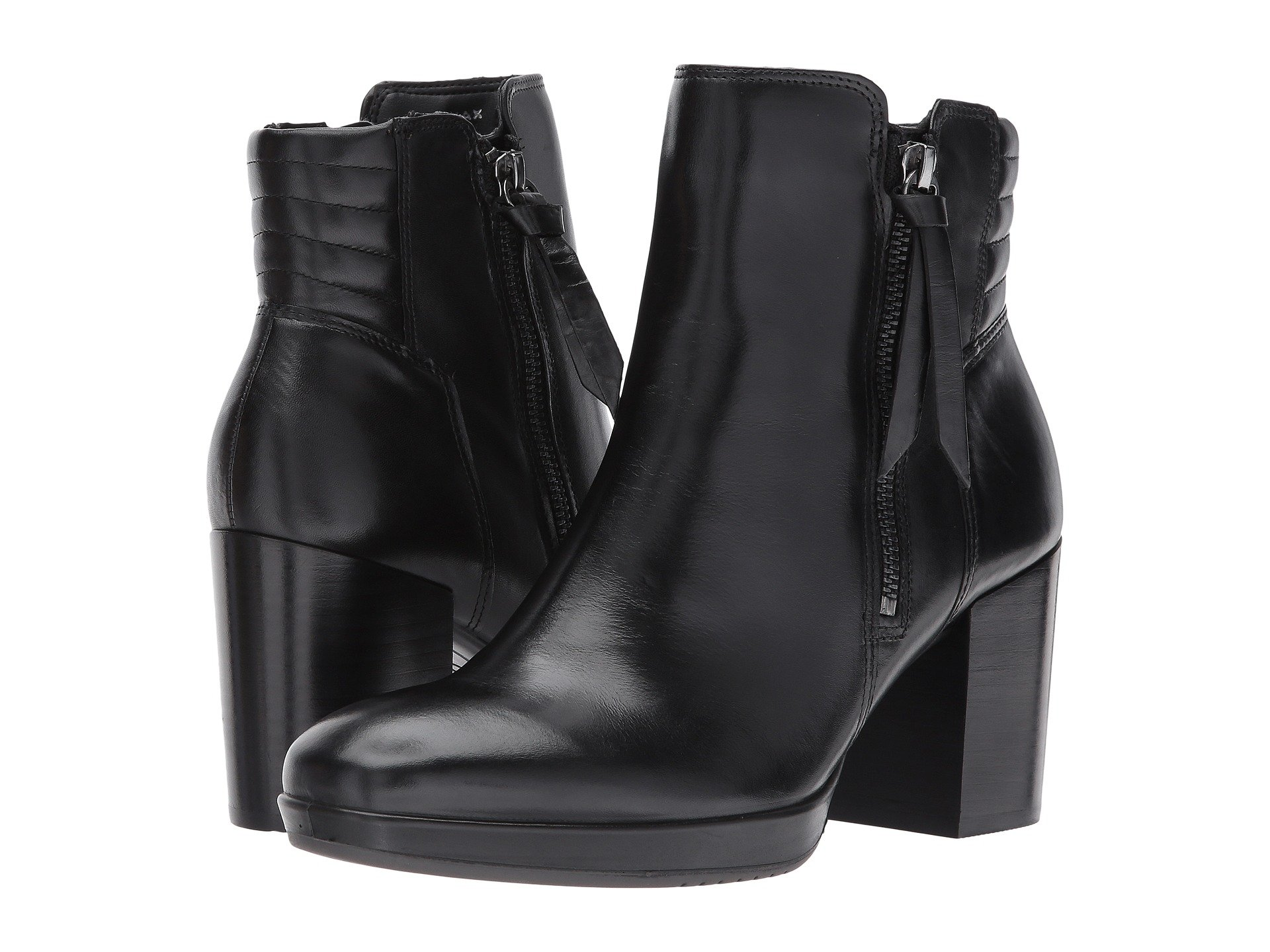 Womens Boots ECCO Touch 55 Ankle Boot Black