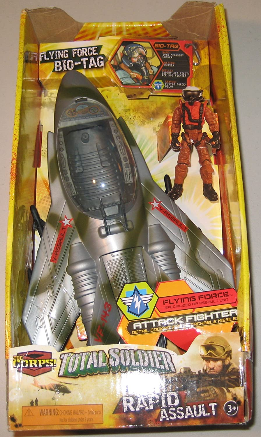 The Corps Total Soldier Rapid Assault Attack Fighter Plane