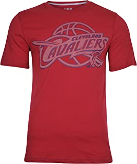 Ultra Game NBA Men's Brushed Reflective Logo Tee Shirt