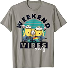 Despicable Me Minions Weekend Vibes Only Graphic T-Shirt