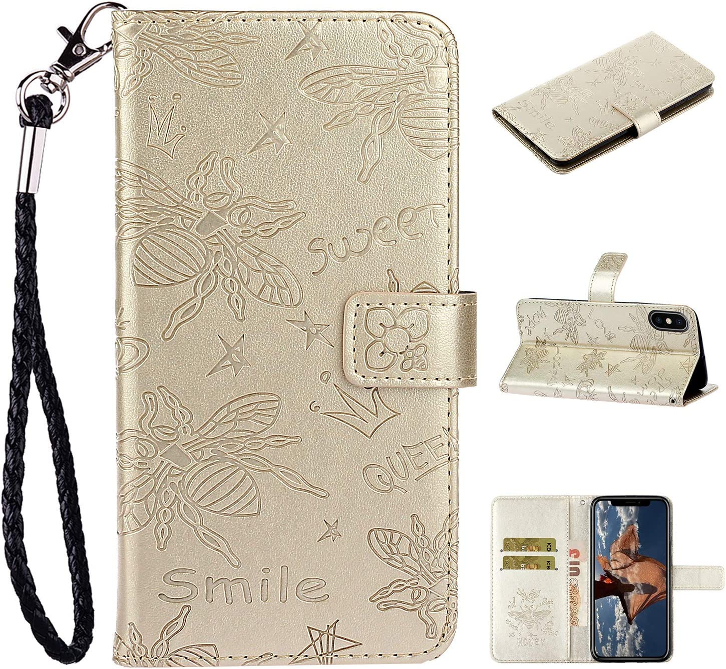 Amocase Strap Wallet Popular popular Leather Case Latest item with for 1 Stylus 2 in iPhone