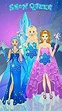 Habiller Reine des Neiges: Habillage Jeux de Filles