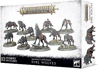 Warhammer AoS - Soulblight Gravelords Dire Wolves