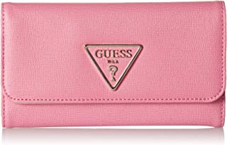 guess pink multi handbag