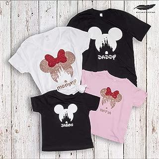 Family Matching Disney Vacation Shirts, Mickey Minnie Mouse Trip Tanks, 2019 Summer Trip T-Shirts