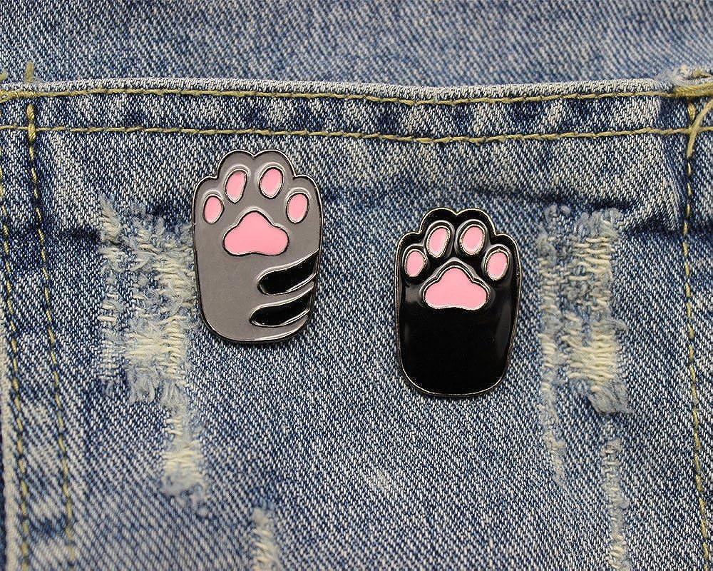 VEINTI+1 Fashion Cartoon Enamel Brooch Pins Set for Unisex Child Women's Clothing Decorate