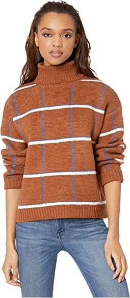 Tattersall Plaid Sweater