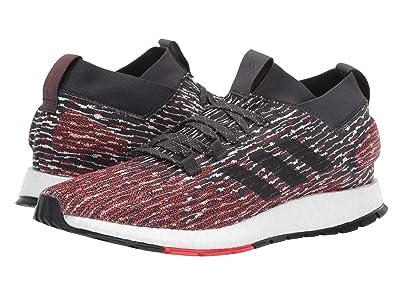 adidas Running PureBOOST RBL (Carbon/Core Black/Active Red) Men