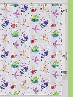 Creative Bath Products Cute as a Bug Shower Curtain