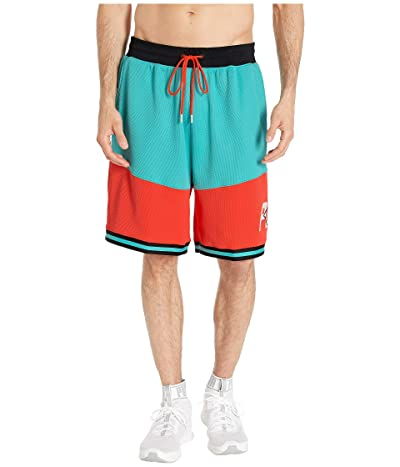 PUMA LuXTG Basketball Shorts (Blue Turquoise/Nrgy Red/Puma Black) Men