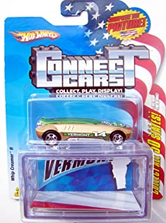 Hot Wheels Connect Cars Vermont Whip Creamer II with Display Case 1:64 Scale