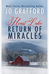 Return of Miracles: A Sweet, Inspirational, Small Town, Romantic Suspense Series (Heart Lake Book 4) Kindle Edition