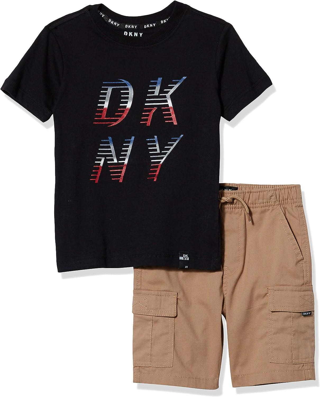 DKNY Boys' Max 70% OFF depot Shorts Set