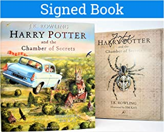 Harry Potter Chamber of Secrets Illustrated Book J.K. Rowling (SIGNED by Jim Kay)