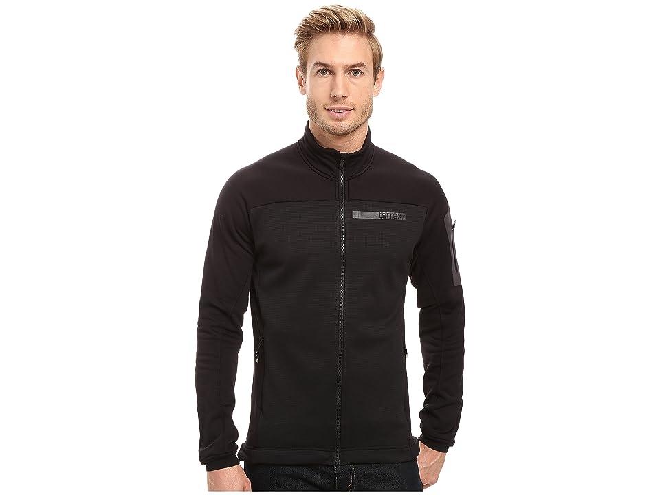 adidas Outdoor Terrex Stockhorn Fleece Jacket (Black) Men