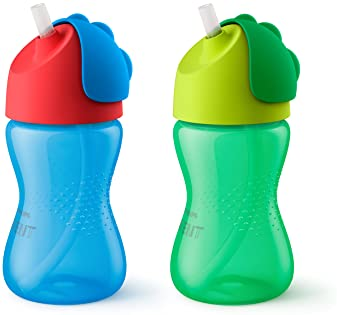 Philips Avent My Bendy Straw Cup, 10 Oz, 2 Pack