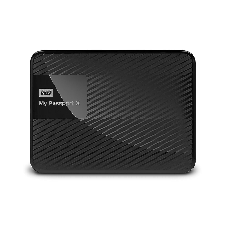 WD 2TB My Passport X for Xbox One Portable External Hard Drive, USB 3.0 - WDBCRM0020BBK-NESN