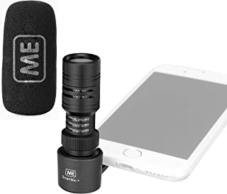 ME Directional TRRS Microphone for Smartphone – External iPhone iOS, Android Cell Phone Mic for Recording