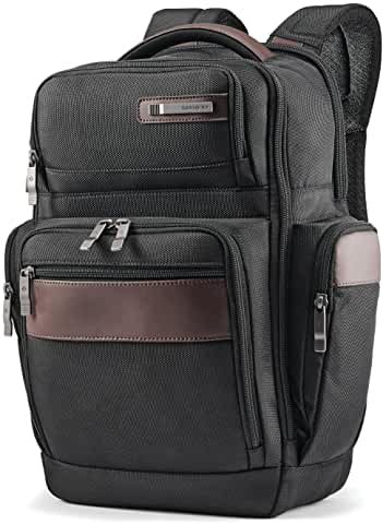 Samsonite Kombi 4 Square Laptop Backpack (Black/Brown)