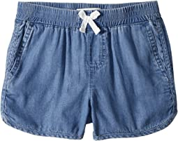 Lightweight Shorty Shorts (Little Kids)