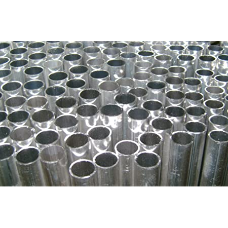 """304 Stainless Steel Round Tube 3 Pack 5//8/"""" OD x 0.065/"""" Wall x 48/"""" long"""