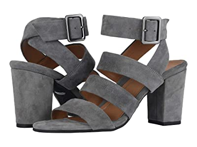 VIONIC Blaire Suede (Charcoal) High Heels