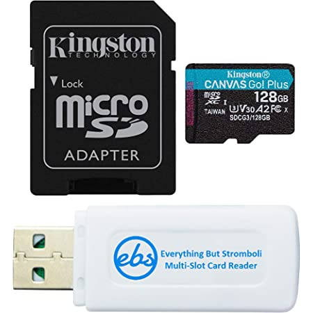 Kingston 128GB Asus ZE553KL MicroSDXC Canvas Select Plus Card Verified by SanFlash. 100MBs Works with Kingston