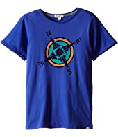 Appaman Kids - Super Soft Cardinal Points Compass Graphic Tee (Toddler/Little Kids/Big Kids)