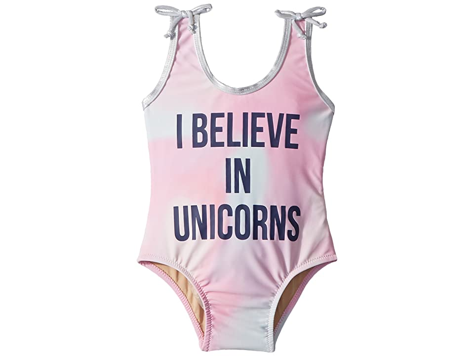 shade critters I Believe in Unicorns One-Piece (Infant/Toddler) (Pink) Girl