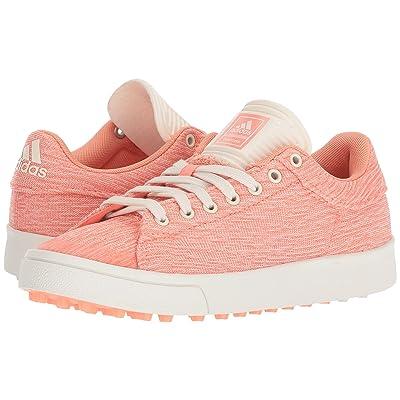 adidas Golf Jr. Adicross Classic (Little Kid/Big Kid) (Chalk Coral/Chalk White/Chalk Coral) Golf Shoes