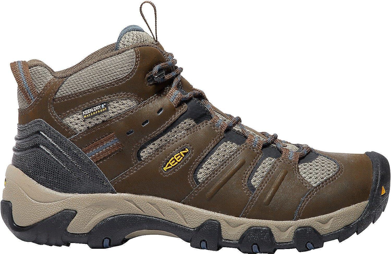 8006e202695 KEEN Men's Koven Mid Waterproof Hiking shoes, Cascade Cascade ...