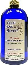 BLUE RIDGE SILVER 5 ppm 16 oz Colloidal Silver
