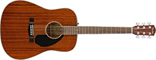 Fender 6 String CD-60S Dreadnought Acoustic Guitar, Right (970110022)