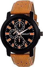 Redux Analogue Black Dial Men's & Boy's Watch RWS0201S