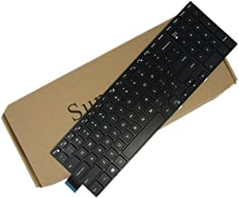 SUNMALL 15 3000 Keyboard with Frame, New Laptop Notebook Replacement Keyboard for Dell Inspiron 15 3541 3542 3543 3551 3558 3559 5000 5542 5545 5547 5548 5551 5555 5558 and 17 5000 Series US Layout