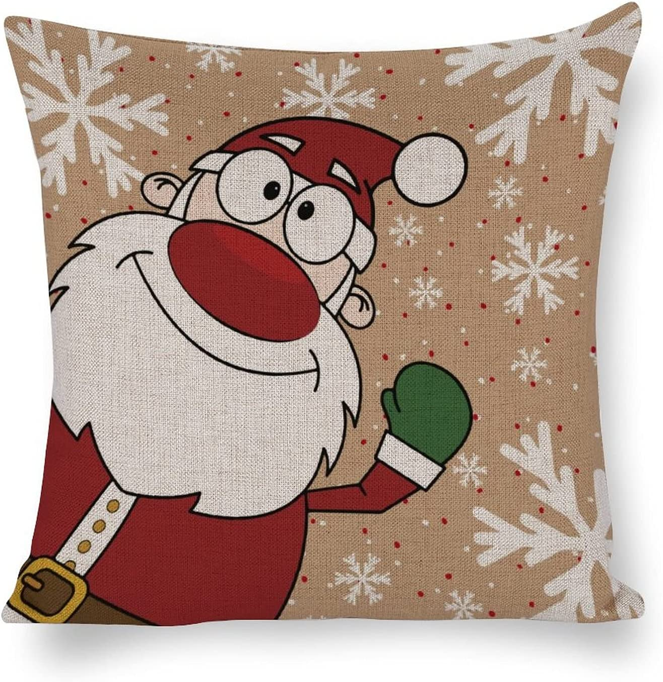 by Lowest price challenge Unbranded Decorative Pillow Cover 18×18 Inventory cleanup selling sale Merry Indoo Christmas
